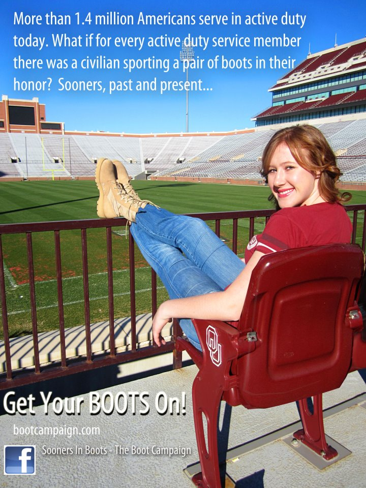 d2f731af37b Sooners in Boots – taking campus by storm